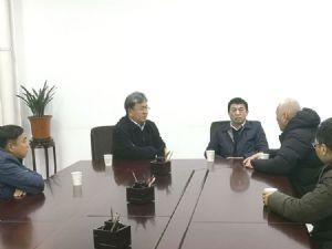县长王俊海会见江苏可祺时装有限公司董事长郑一明一行