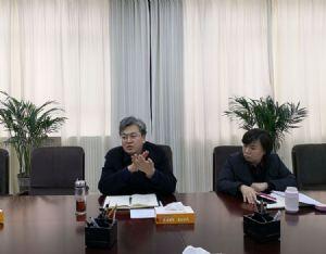县长王俊海听取近期拟落地项目需解决问题情况的汇报