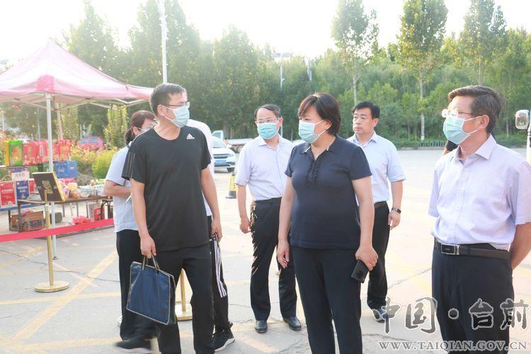 县委副书记、代县长李志华暗访督导疫情防控工作